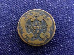 Ausztria Mária Terézia (1740-1780) 1 Krajcár 1761 P / id 4398/