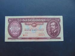 100 forint 1957 B 075 Ritkább évszám