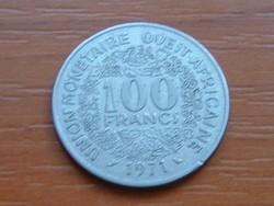 NYUGAT AFRIKA 10 FRANK FRANCS 1971 (a) #