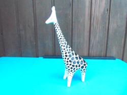 Hollóházi art deco zsiráf