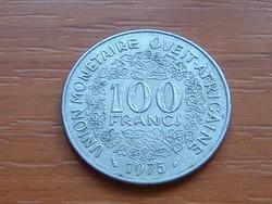 NYUGAT AFRIKA 10 FRANK FRANCS 1975 (a) #