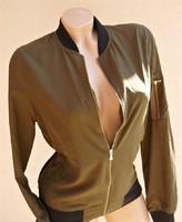 ZARA márkás csinos cipzáras felső kabát  dzseki