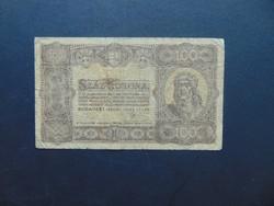 100 korona 1923 Nyomdahely nélkül