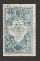 1 gulden/1 forint 1888.  VF++!!!  (128 éves)!!! SZÉP!!