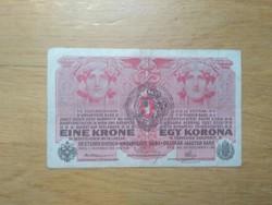 1 korona 1916 Savoyai címer