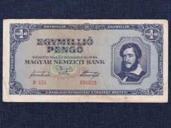 Háború utáni inflációs (1945-1946) 1 millió Pengő bankjegy 1945 / id 14512/