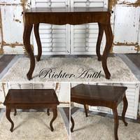 Antik bútor, Biedermeier asztal.