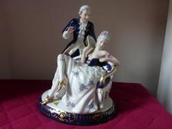 Royal dux  barokk pár
