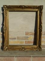 Gyönyörű, antik blondel keret 60 x 50 cm