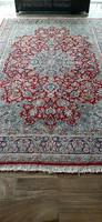 Kirman Iráni kézi csomózású perzsa szőnyeg