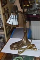 Régi felújított Tiffany búrás asztali lámpa