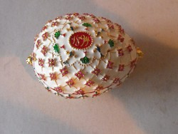 Faberge tojás másolat dobozában