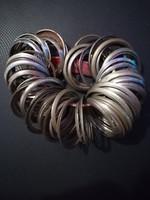 Zsebóra plexi befogó gyűrű 79 db