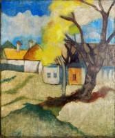 Ismeretlen nagybányai festő 1900-as évek eleje