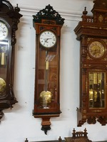 W. Schönberger: Bécsi hónapos járatú, restaurált antik falióra