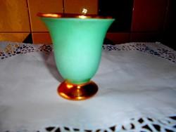 Régi kis méretű  porcelán váza