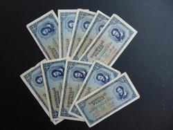 10 darab 1 millió pengő 1945 LOT !