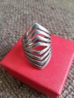 Extra széles ezüst gyűrű