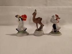 Herendi antik mini figurák egyben!