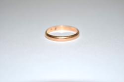 14 K arany karika gyűrű