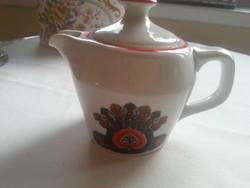Hollóházi  kávéfözö  porcelán kiöntöje