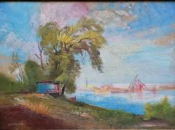"Istókovits Kálmán (1898-1990) "" Balaton part """