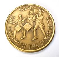 Cleveland 1776-1976 bicentenárium emlékéme.