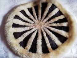 Valódi szőrme falikárpit,falvédő,faliszőnyeg