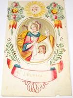 Szent Veronika, kézzel festett kép, nagyon régi!