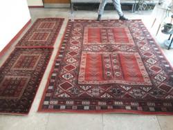 Szép gyapjú  szőnyeg garnitúra