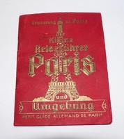 Világháborús német nyelvű párizsi útikönyv, Notre-Dame,metró,stb.