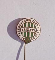 Ferencvárosi Torna Club tűzzománcos kitűző