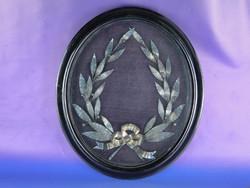 0F039 Nagyméretű ezüst babérkoszorú 1915-ből