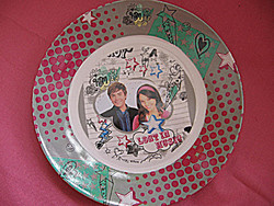 High School Musical Disney tányér