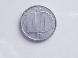 Csehszlovák 10 haler - 1976