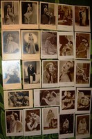 Greta Garbo fotólap gyűjtemény 24 db