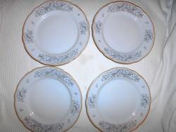 4 db Kalocsai különleges mintával kézzel festett jelzéssel  tányér
