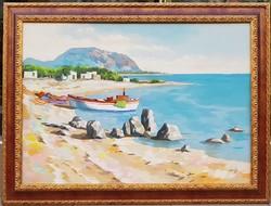 Grosso jelzéssel: Mediterrán tengerpart