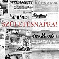 50. SZÜLETÉSNAPRA! 1970 április 8  /  NÉPSZABADSÁG  /  SZÜLETÉSNAPRA! RETRO, RÉGI EREDETI ÚJSÁG
