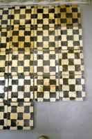 Antik járólap cementlap mozaiklap 21 db