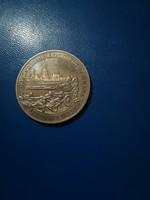 1995-ös 3 Rubel Budapest felszabadítása PP