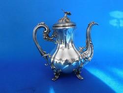 Ezüst barokk Kávés kanna 384gr