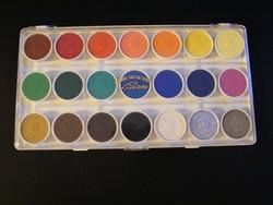 Retro Licolette 21 színű művészi vízfesték, akvarell