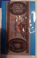 Hűtőmágnes 50 Forint. 6×9 cm