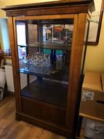 Antik, Biedermeier vitrin eladó