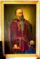 Gróf Széchenyi István 1860 -Horváth Henrik ( Szeged 1840-)alkotása