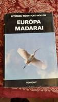 Európa Madarai könyv eladó!
