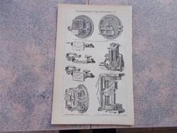 Litografie Meyers,1904, Instruments
