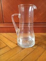 Art deco üvegkancsó - 23 cm