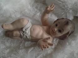 Kis Jézus - NAGY - NSZK -  gumi - 20 x 14 cm - szép állapot